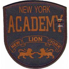 Applikation New York Academy orange/blau - 5 Stück