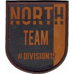 Applikation North Team braun/blau - 5 Stück