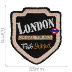 Applikation London Feel Guilted - 5 Stück