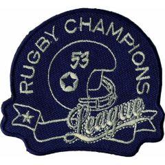 Applikation Rugby Champions Jeans dunkelblau - 5 Stück