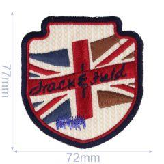 Applikation Wappen Drack and Field - 5 Stück