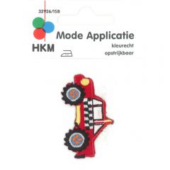 HKM Applikation Buggy 50x31mm rot - 5Stk