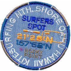 Applikation Surfer Spot Button - 5 Stück