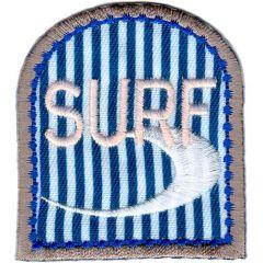 Applikation Surf mit Welle - 5 Stück