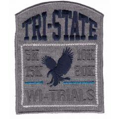 Applikation Tri State - 5 Stück