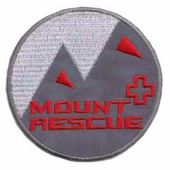 Applikation reflektierender Button Mount Rescue rot - 5 Stk.