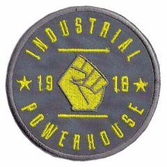 Applikation reflektierend Industrial Powerhouse gelb - 5Stk.