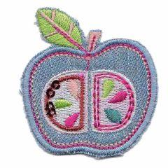 Applikation Apfel - 5 Stück