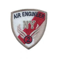 Applikation Air ingineer Wappen - 5 Stück