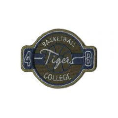 Applikation Basketball college tigers - 5 Stück