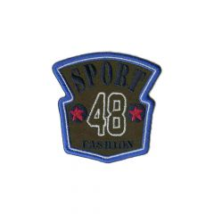 Applikation Sport 48 Fashion - 5 Stück