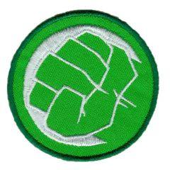HKM Applikation Hulk Faust - 5Stk