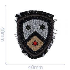 HKM Applikation Wappen 40x48mm - 5Stk