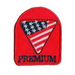 Applikation Amerika premium - 5 Stück