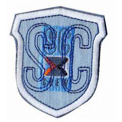 Applikation Wappen SC helle Jeans - 5 Stück