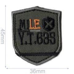 HKM Applikation Mile 36x45mm - 5Stk