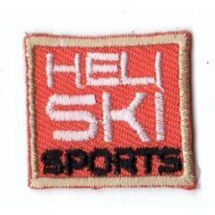 HKM Applikation Heli Ski Sports Viereck - 5Stk
