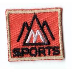 HKM Applikation Sports Viereck - 5Stk