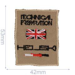 HKM Applikation Heli Ski - 5Stk