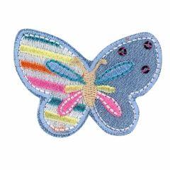 Applikation Schmetterling auf Jeans - 5 Stück