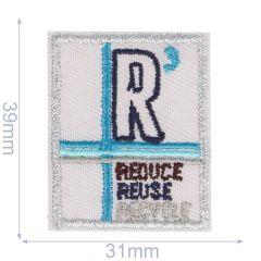 Applikation Viereck R3 - 5 Stück