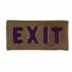 Applikation Exit - 5 Stück