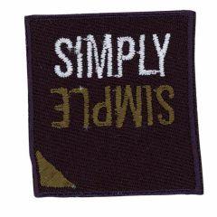 Applikation SIMPLY SIMPLE - 5 Stück