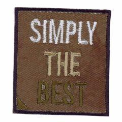 Applikation Simply the Best - 5 Stück