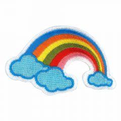 Applikation Regenbogen - 5 Stück