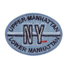 Applikation Manhattan NY Jeans - 5 Stück