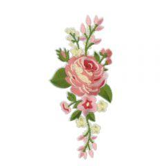 Applikation Rose - 5 Stück