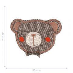 HKM Applikation Teddybär - 5Stk