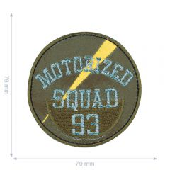 HKM Applikation Motorized Squad 93 - 5Stk