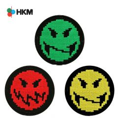 HKM Applikation Smileys Gaming - 3Stk