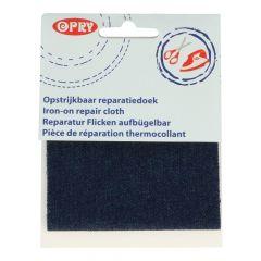 Opry Reparatur-Fl. Jeans aufbügelb. 10x40cm Farbe -10Stk