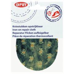 Opry Knie-Flicken aufbügelbar Jeans 12x9,5cm - 5Stk