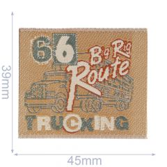 Applikation 66 Big Rig Route Truck - 5 Stück