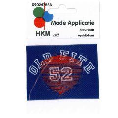 HKM Applikation Old Fite 52 - 5Stk