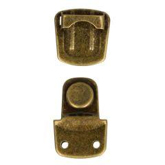 Steckschloss für Taschen klein - 12 Stück
