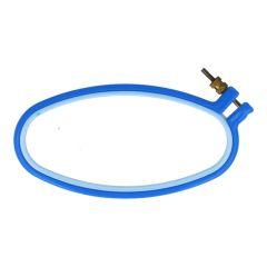 Stickring Kunststoff oval - 3 Stück
