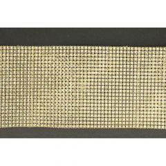 Strassband Diamant 13cm - 9,2m - gold