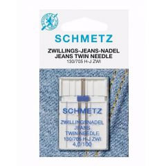 Schmetz Jeans Zwilling 1 Nadel 4.0-100 - 10Stk