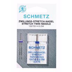Schmetz Stretch Zwilling 1 Nadel - 10Stk