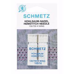 Schmetz Hohlsaum 1 Nadel 100-16 - 10Stk