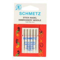 Schmetz Sticken 5 Nadeln - 10Stk