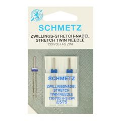 Schmetz Stretch Zwilling 2 Nadeln - 20Stk