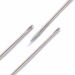 Prym Ledernadeln Sortiment Nr.3-7 silber - 5x6Stk