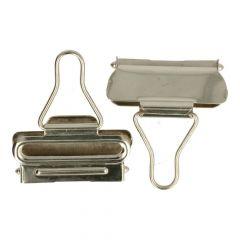 Latzhosenverschluss 40mm - 10Stk