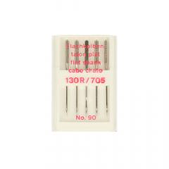 Nähmaschinen-Nadeln Flachkolben Nr. 70-100 - 10Stk