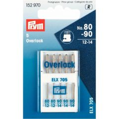 Prym Nähmaschinennadeln Overlock 80-90 - 10Stk